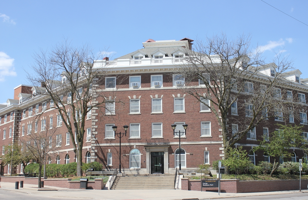 Currier Hall - University of Iowa - Iowa City, IA